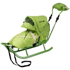 Saniuta Piccolino DeLux cu Saculet Verde