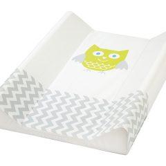 Saltea De Infasat Bebe Cu Intaritura 70x50 Klups Owls Alb