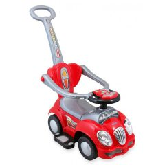 Masinuta de impins pentru copii Baby Mix HZ 558W 3 in 1 Cute Car Red