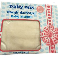Patura copii Baby Mix TG 6159 Beige
