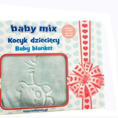Patura copii Baby Mix TG 6159 Blue
