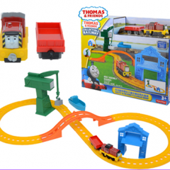 Set de joaca THOMAS SALTY & CRANKYS CARGO DROP - BHR95