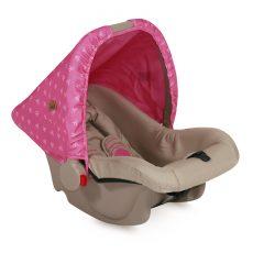 10070131703 Car Seat BODYGUARD BEIGE&ROSE PRINCESS 0-10kg
