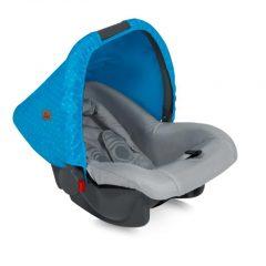 10070131718 Car Seat BODYGUARD BLUE&GREY HELLO BEAR 0-10kg